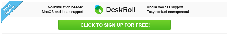 DeskRoll Remote Desktop - try this new remote desktop tool with easy contact management and MacOS, Linux and mobile devices support